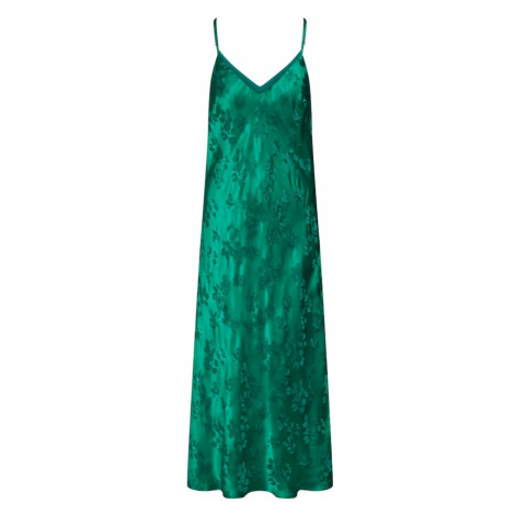 Essentiel Antwerp Sukienka koktajlowa 'Vegetarian long slip dress' zielony
