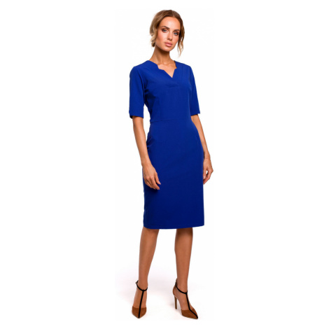 Made Of Emotion Woman's Dress M455 Royal