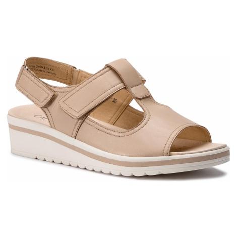 Sandały CAPRICE - 9-28220-22 Beige Nappa 402