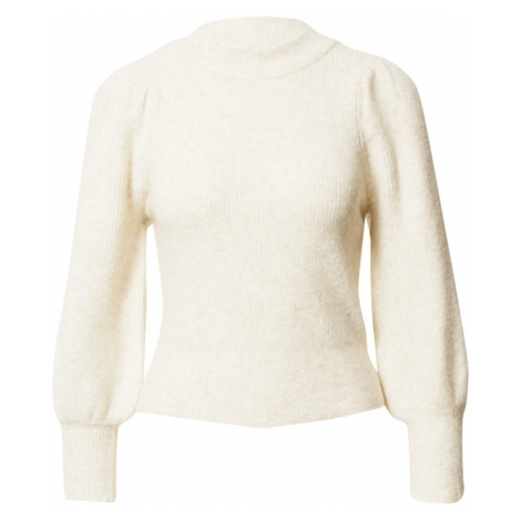 Gina Tricot Sweter 'Alva' jasny beż