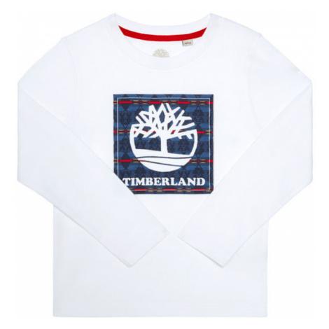 Timberland Bluzka T25R20 D Biały Regular Fit