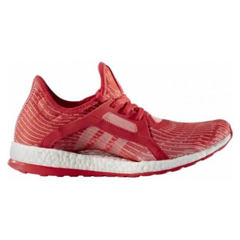 adidas PUREBOOST X W czerwony 4 - Obuwie do biegania damskie
