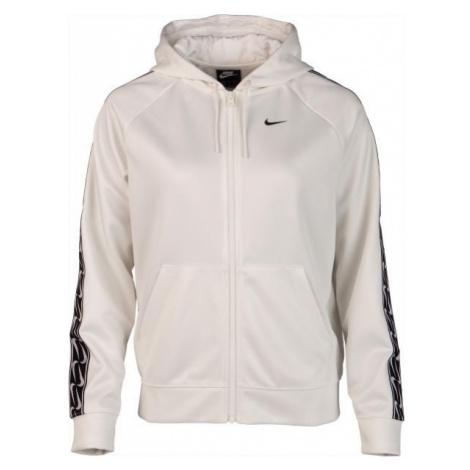 Nike NSW HOODIE FZ LOGO TAPE biały M - Bluza damska