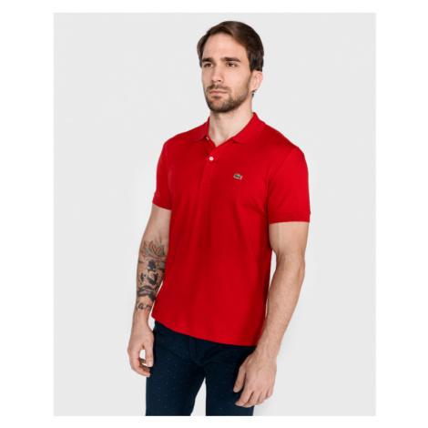 Lacoste Polo Koszulka Czerwony