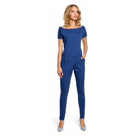 Made Of Emotion Woman's Jumpsuit M065 Jeans
