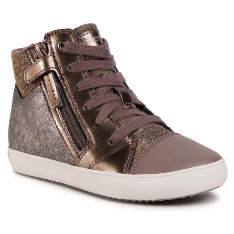 Sneakersy GEOX - J Gisli G. D J024ND 054PV C9006 S Smoke Grey