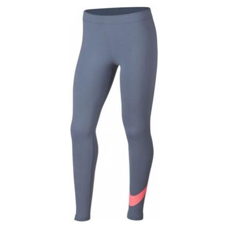 Nike NSW FAVORITES SWSH TIGHT - Legginsy dziewczęce