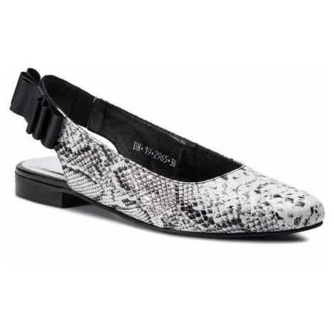 Sandały KARINO - 2965/053 Biały/Czarny