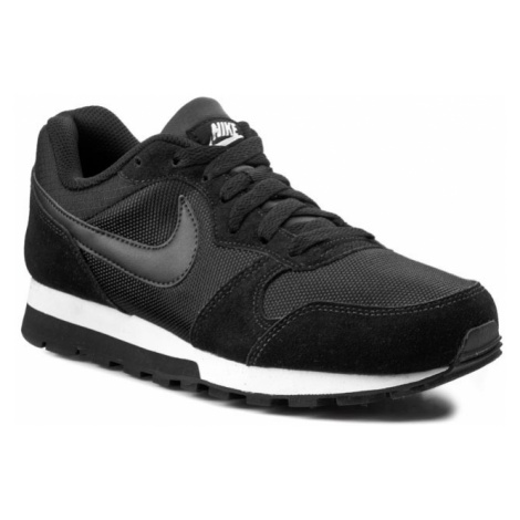 Buty NIKE - Md Runner 2 749869 001 Black/Black/White