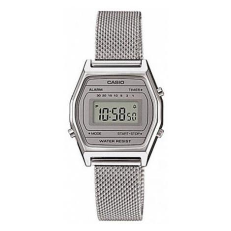 Casio Zegarek LA690WEM-7EF Srebrny