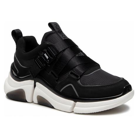 Sneakersy KARL LAGERFELD - KL51719 Black Lthr