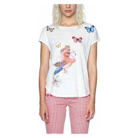 Desigual Ladies T-shirt Ts So What 18SWTKHO 1000