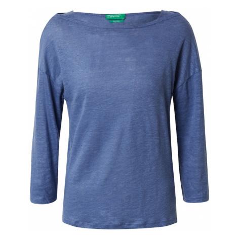 UNITED COLORS OF BENETTON Koszulka podpalany niebieski