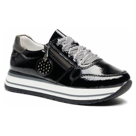 Sneakersy RIEKER - N3512-00 Schwarz