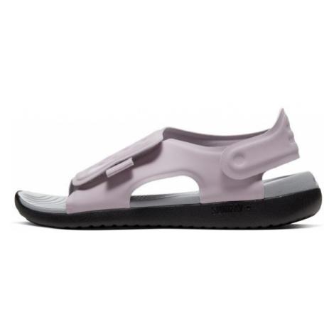 Klapki dla małych/dużych dzieci Nike Sunray Adjust 5 - Fiolet