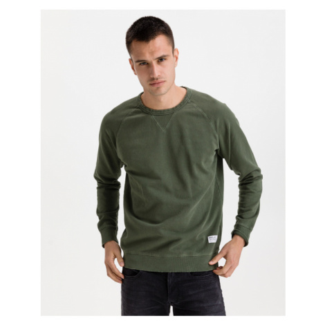 Replay Bluza Zielony