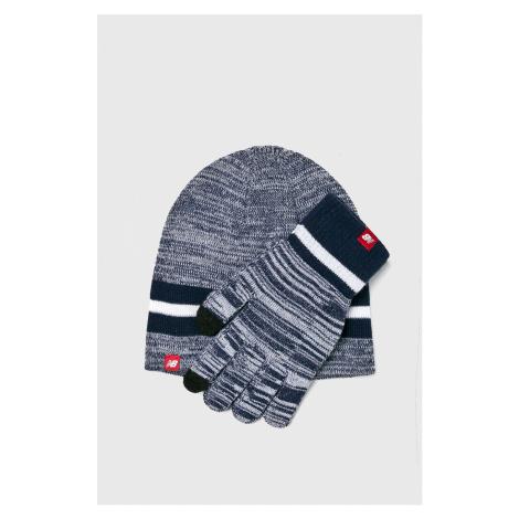 New Balance - Czapka + rękawiczki