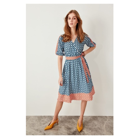 Trendyol Oil Ks-Patterned Dress