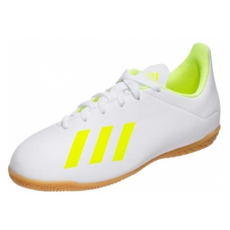 ADIDAS PERFORMANCE Buty sportowe 'X 18.4 Indoor' neonowo-żółty / biały