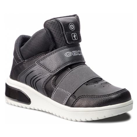 Sneakersy GEOX - J Xled B. A J847QA 05411 C9999 S Black