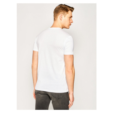 Trussardi Jeans T-Shirt Pure 52T00312 Biały Regular Fit