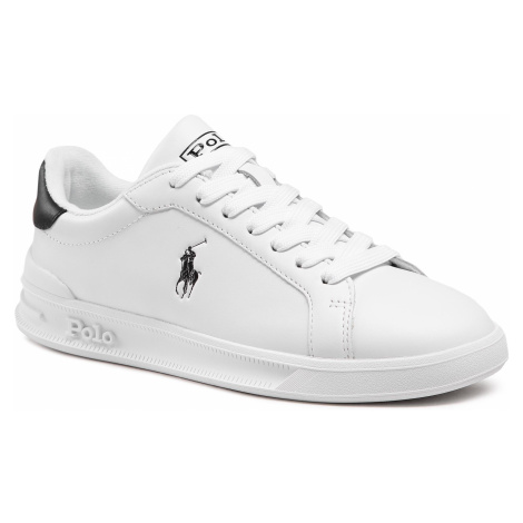 Sneakersy POLO RALPH LAUREN - Hrt Ct II 809829824005 Wht/Blk