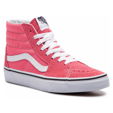 Sneakersy VANS - Sk8-Hi VN0A38GEGY71 Strawberry Pink/Truewhite