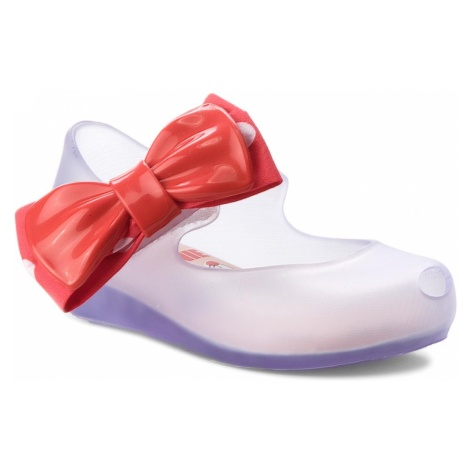 Półbuty MELISSA - Mini Melissa Ultragirl + Minni 32377 Clear/Red 51307