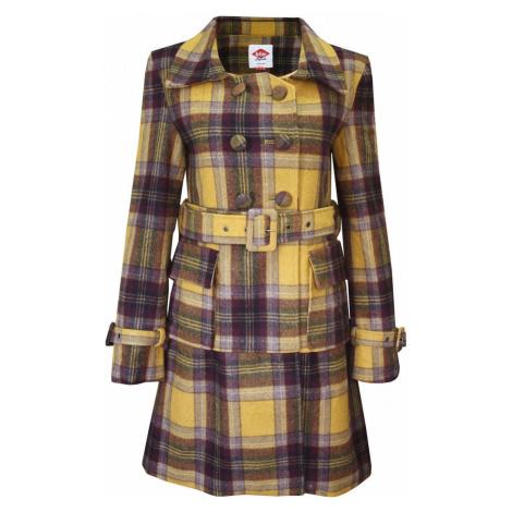 Lee Cooper Check Wool Coat Ladies