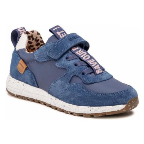 Geox Sneakersy J Alben G. B J15AQB 022FU C4005 S Granatowy
