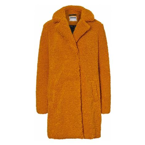 Noisy may Płaszcz zimowy ciemnopomarańczowy