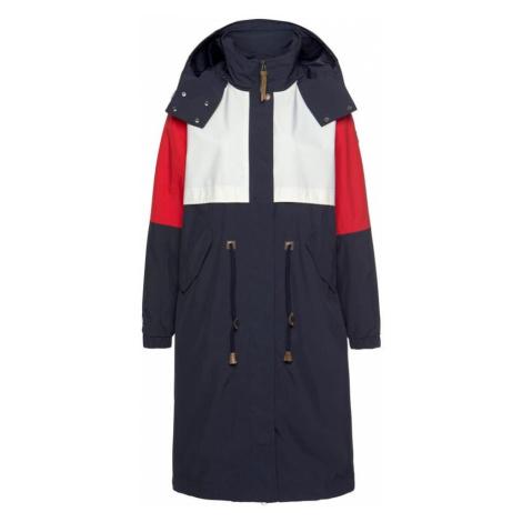 ICEPEAK Płaszcz przejściowy 'Algoma' czerwony / atramentowy / biały