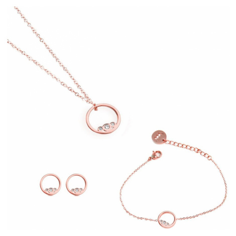 Pices of Ringy Rose Gold Vuch