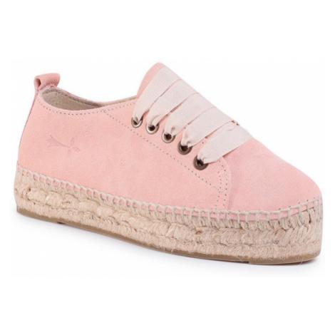 Manebi Espadryle Sneakers D W 1.4 E0 Różowy
