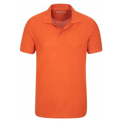 Strad - męskie polo - Orange