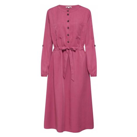 TOM TAILOR DENIM Sukienka koszulowa różowy pudrowy