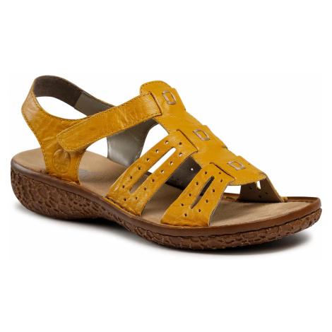 Sandały RIEKER - V6917-68 Gelb