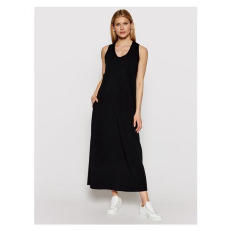 Max Mara Leisure Sukienka codzienna Bagagli 36210616 Czarny Regular Fit