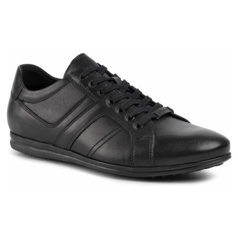 Sneakersy WOJAS - 8075-51 Czarny