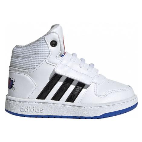 Adidas Hoops Mid 2.0 I Dziecięce Białe (EE8551)