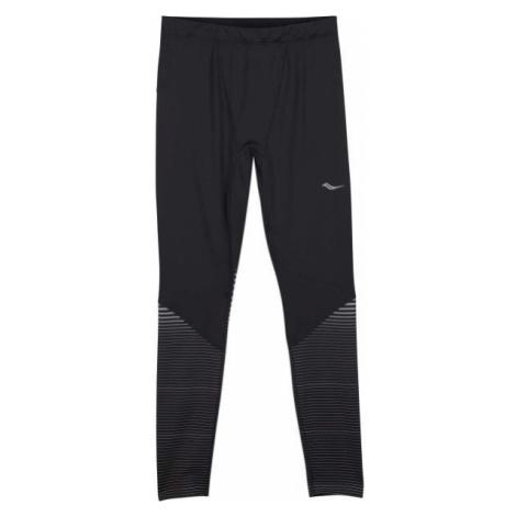 Saucony OMNI REFLEX TIGHT czarny XL - Legginsy do biegania męskie