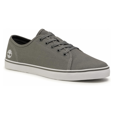 Tenisówki TIMBERLAND - Skape Park Oxford TB0A1UYGC241 Medium Grey Canvas