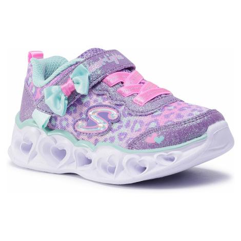 Sneakersy SKECHERS - Untamed Hearts 302088N/LVAQ Lavender/Aqua