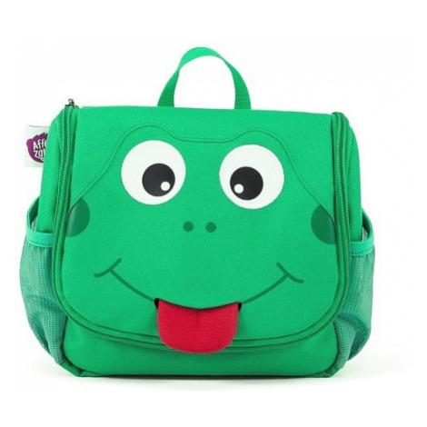 torebka na kosmetyki Affenzahn Finn Frog - Green/Black/Red