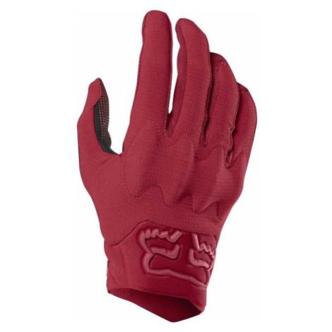 Fox DEFEND D3O czerwony M - Rękawiczki rowerowe męskie