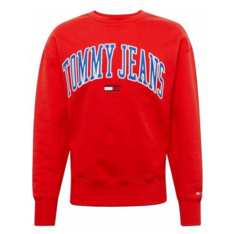 Tommy Jeans Bluzka sportowa 'CLEAN COLLEGIATE' ciemny niebieski / czerwony / biały Tommy Hilfiger