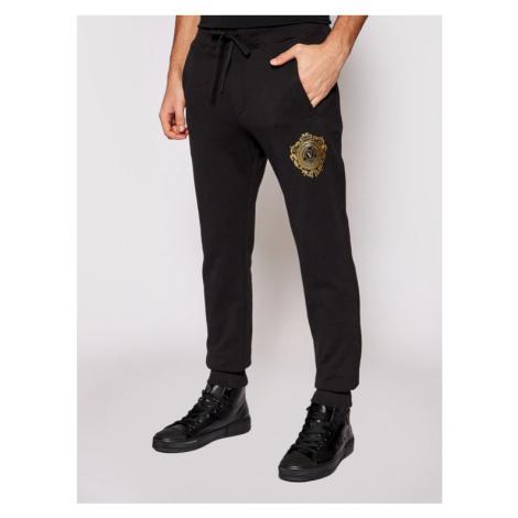 Versace Jeans Couture Spodnie dresowe A2GWA13F Czarny Regular Fit