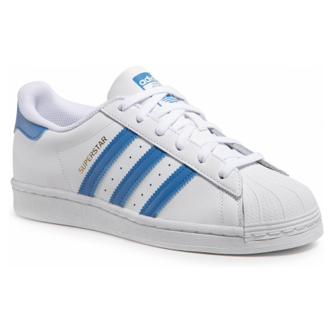 Buty adidas - Superstar H68093 Ftwwht/Trublu/Goldmt