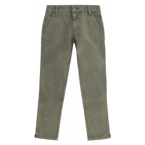 Diesel Spodnie dziecięce Zielony