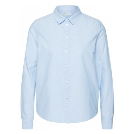 PIECES Bluzka jasnoniebieski
